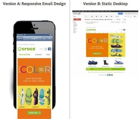 Responsive email design: five case studies and an infographic on how it improves engagement | MarketingHits | Scoop.it