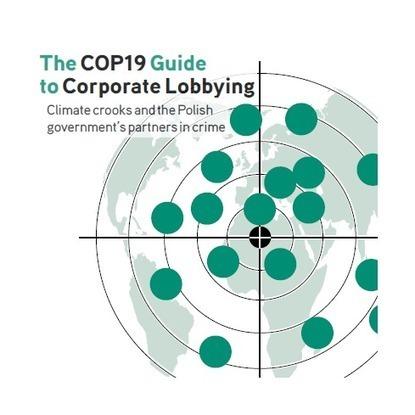 COP19 Guide to Corporate Lobbying   Daraja.net   Scoop.it