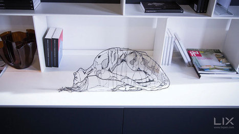 Draw Solid Objects In Thin Air With The World's Smallest 3D Printing Pen [DESIGN] | Digital Creatives | Scoop.it