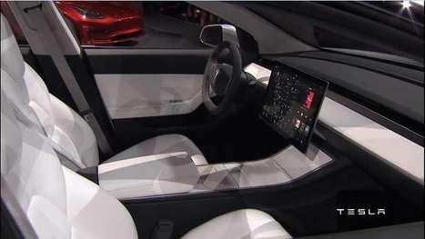 Tesla: tout savoir sur la Model 3 | Pulseo - Centre d'innovation technologique du Grand Dax | Scoop.it