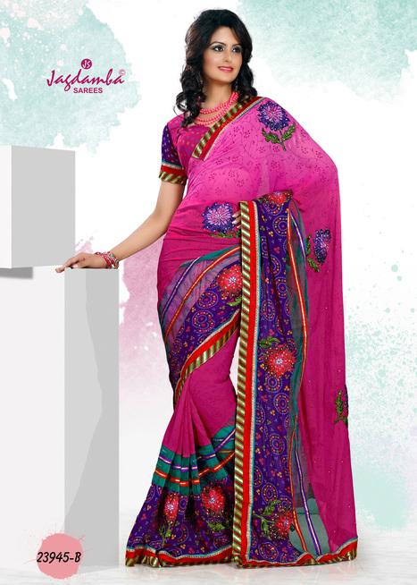 Buy Party Wear Sarees Online | Surat Sarees Online from JagdambaSarees | Scoop.it