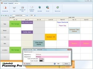 Logiciel de planning SodeaSoft Familial gratuit | Time to Learn | Scoop.it