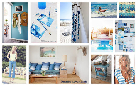 Sunrise Never Ends: Encore un peu de bleu ... | Tendance Mode | Scoop.it