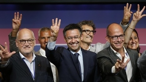 Josep Bartomeu beats Joan Laporta to be re-elected as Barcelona president - The Guardian | AC Affairs | Scoop.it