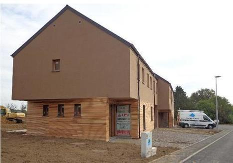 Des maisons positives sortent de terre à Bossière (Luxembourg) | Le flux d'Infogreen.lu | Scoop.it