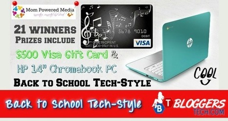 Back to School Tech-Style Giveaway | Bloggers Tech | Scoop.it