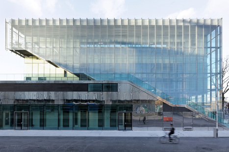 Sport Centre in Paris: reconstruction of the stadium Jules Ladoumègue | The Architecture of the City | Scoop.it