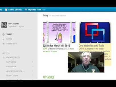 Gustavo Martínez Blog´s »  Coffee Time Edu: Un buen lugar con vídeos educativos de tecnología | Personal [e-]Learning Environments | Scoop.it
