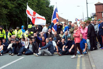Far-right British group hurl racist anti Irish abuse during Liverpool parade | The Indigenous Uprising of the British Isles | Scoop.it