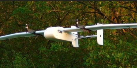 Un drone mi-quadricoptère mi-avion - Le Nouvel Observateur | Drone & applications | Scoop.it