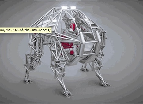 The Rise of the Anti-Robots: A Three-Story Steel Beast Explores Harmony Between Humans and Machines | GE Reports | Robotics in Manufacturing Today | Scoop.it