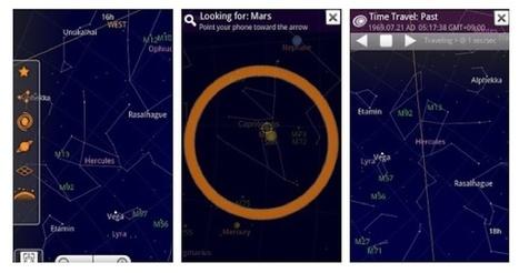 4 sencillas aplicaciones para ver las estrellas desde tu smartphone | El rincón de mferna | Scoop.it