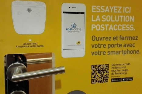 La Poste lance Postaccess, une serrure Bluetooth, RFID et Wifi | Internet of things - Internet of everything | Scoop.it
