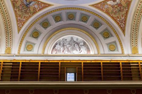 Engelin helmi puhdistettiin syljellä ja saippualla – historiallinen Kansalliskirjasto aukeaa taas | Kirjastorakennukset | Scoop.it