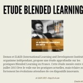 Infographic: Etude Blended Learning | Numérique & pédagogie FormaVia | Scoop.it