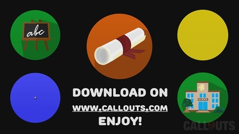 Callouts September: Educational presentation resources! | Camtasia | Scoop.it