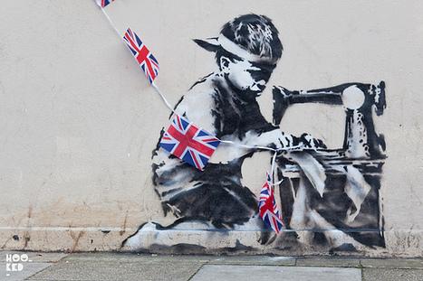 Street Art : Banksy (au coeur de la ville et de la société) | Ateliers créativité (AFB) | Scoop.it