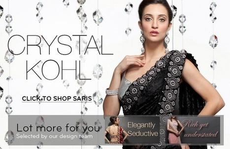 Designer's Collection Indian Saris Online- Zarilan | indian wedding dresses | Scoop.it