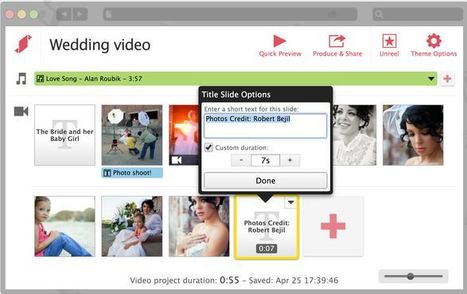 Stupeflix - make videos online with photos, clips, music | Digital Presentations in Education | Scoop.it