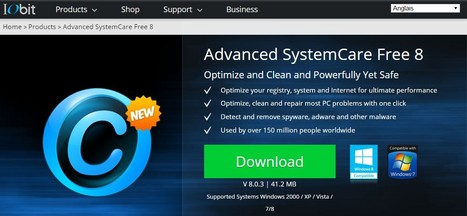 Advanced SystemCare Free Download 8/7/6/5/4/3 | Windows XP / Vista / 7/8 - IObit | Best Freeware Software | Scoop.it