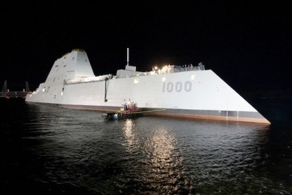 "Navy's New ""All-Electric"" Destroyer Is A Seagoing Microgrid 