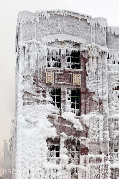 Fire and Ice: The Frozen Aftermath of a Chicago Warehouse Fire | Colossal | Interesting Photos | Scoop.it