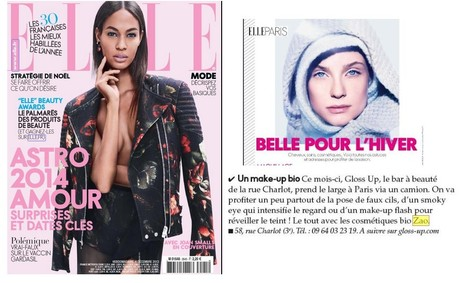 ELLE - Cahier de Paris Dec 13 | Beauty Push, bureau de presse | Scoop.it