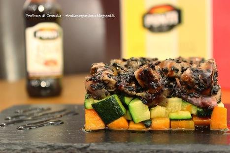 Profumo di cannella: Dadolata di tonno fresco al sesamo nero e verdurine - sapore, consistenza e colore   Ricette e preparazioni spiegate passo passo   Scoop.it