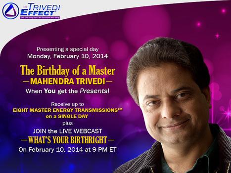 Embark on your path to transformation on Mahendra Trivedi's birthday | Mahendra Kumar Trivedi | Scoop.it