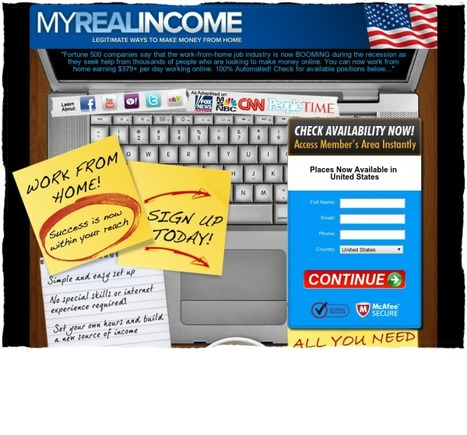 My Real Income - Make money working from home!   Yogesh Kumar- Blog Author   Scoop.it
