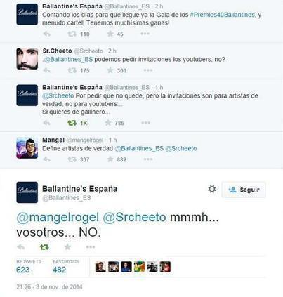 Ballantine's y su crisis social media. | Seo, Social Media Marketing | Scoop.it