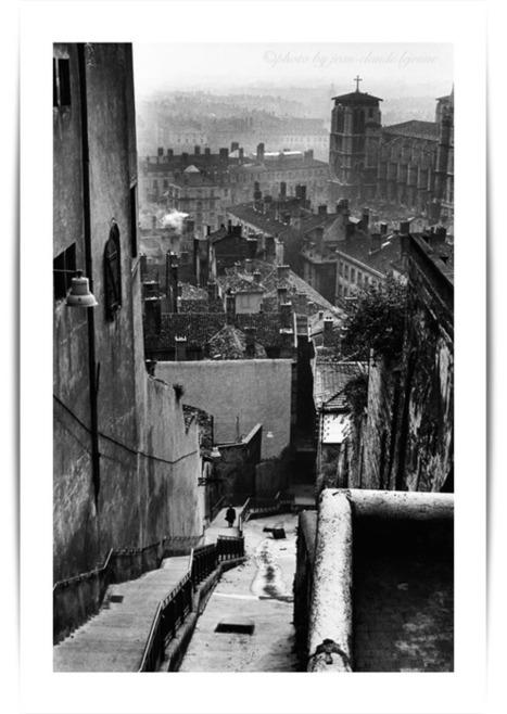 Vieux Lyon en noir et blanc | Secrets lyonnais | Scoop.it