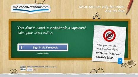 My School Notebook – toma apuntes de clase con tu dispositivo electrónico | Recull diari | Scoop.it