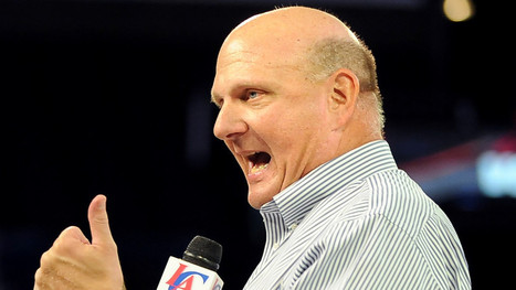 Steve Ballmer's Clippers will use technology to let fans call shots | athlète club fédération 2.0 | Scoop.it