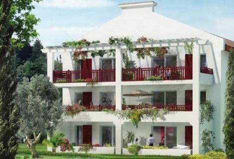 Nouveau programme immobilier neuf VILLA FLORENTINE à Anglet - 64600 | L'immobilier neuf Côte Basque | Scoop.it