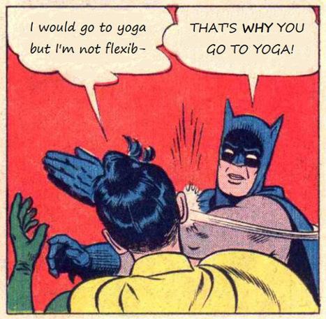 Je ne peux pas faire du yoga, je ne suis pas souple du tout. | Tout sur le Yoga | Scoop.it