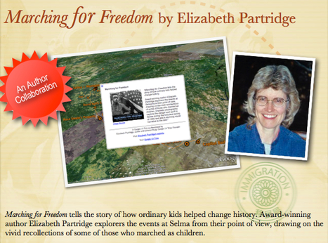 Marching for Freedom by Elizabeth Partridge | Google Lit Trips: Reading About Reading | Scoop.it