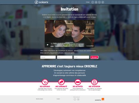 Solerni : Le digital, vivons-le ensemble - Cours en ligne collaboratif ouvert à tous. | Time to Learn | Scoop.it