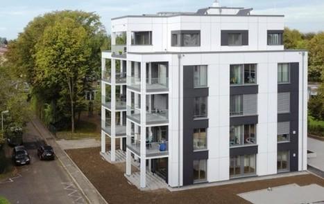 Immeuble à ossature bois : l'exemple venu d'Allemagne - Bâtiment | Materiaux nouveautés | Scoop.it