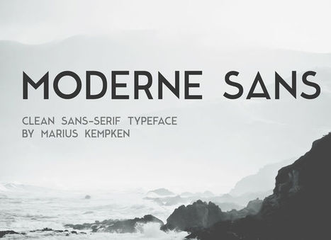 6 Unique Geometric Fonts You Need in Your Toolkit | digital marketing strategy | Scoop.it