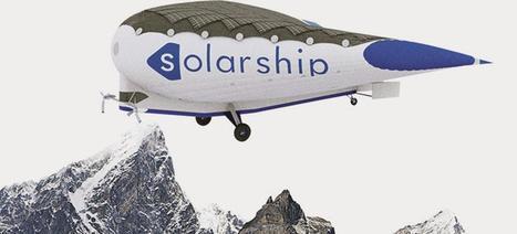 Solar Ship, un avion-cargo solaire aux ailes gonflées à l'hélium | Post-Sapiens, les êtres technologiques | Scoop.it