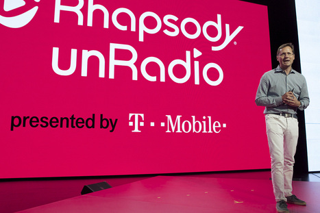 Rhapsody teams with T-Mobile to battle music-streaming giants - New York Post | Mobile Application | Scoop.it
