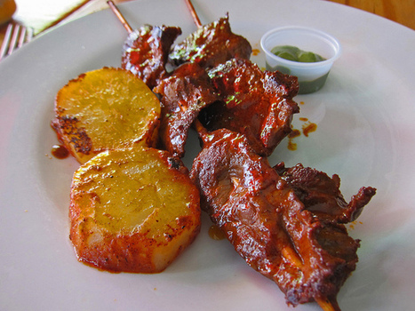 Anticuchos - Latin Chef | Flickr - Photo Sharing! | Gastronomía Peruana | Scoop.it