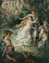 """Hermia in """"A Midsummer Night's Dream""""~Source~ 