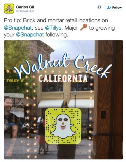 11 Ways to Grow Your Snapchat Following | MarketingHits | Scoop.it