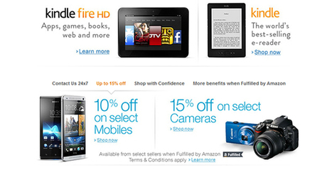 Amazon India now selling consumer electronics - Gigjets   IT equipment and software   Scoop.it
