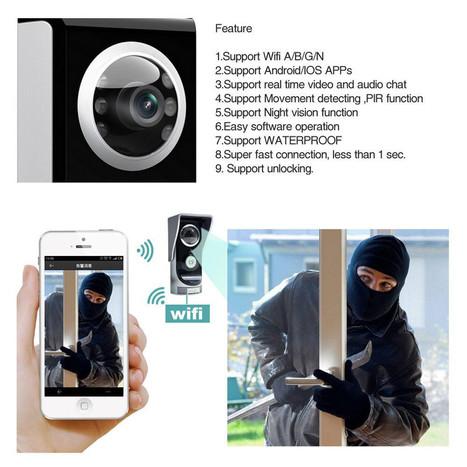wifi doorbell gsm   Videointercom IP   Scoop.it