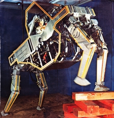 Remembering the Walking Robot of 1969 – Wired Cosmos | Yeah? | Scoop.it
