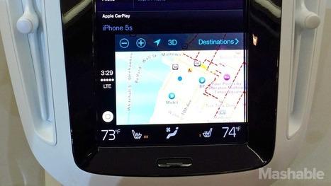 Apple's CarPlay Integration With Volvo - | iPhone App Development  Company | Scoop.it