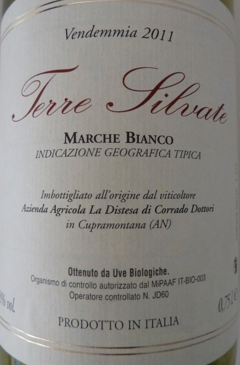 2011 La Distesa 'Terre Silvate' Marche Bianco IGT - Breaking the Rules | Wines and People | Scoop.it
